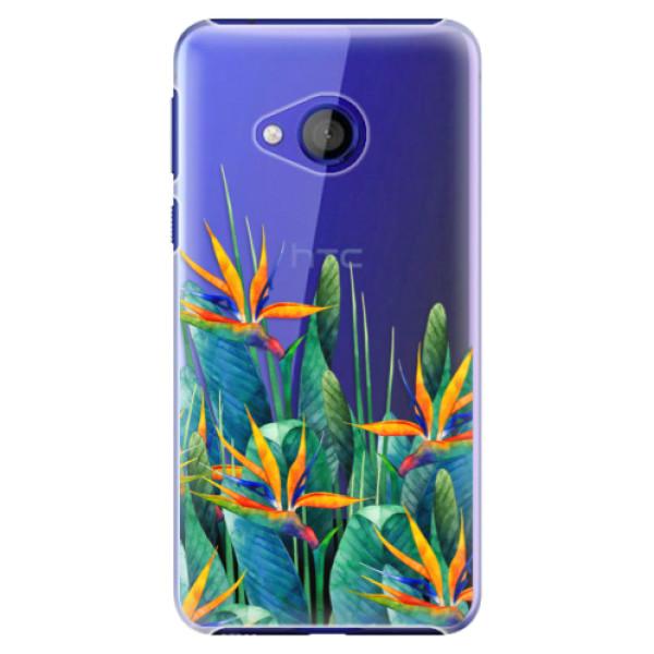 Plastové pouzdro iSaprio - Exotic Flowers - HTC U Play