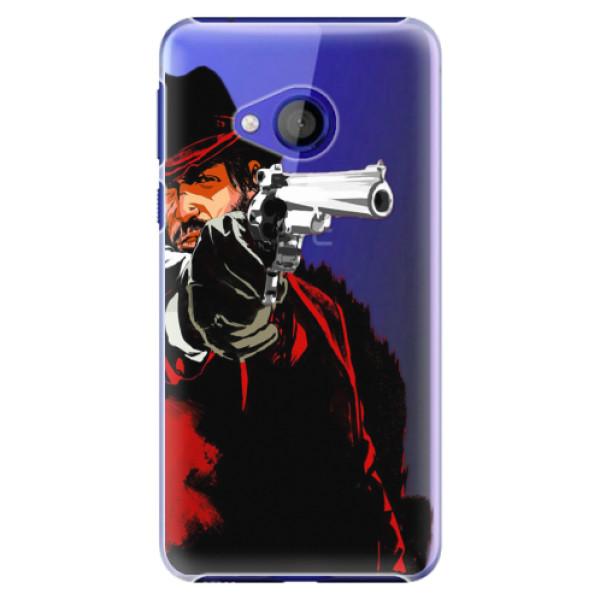Plastové pouzdro iSaprio - Red Sheriff - HTC U Play