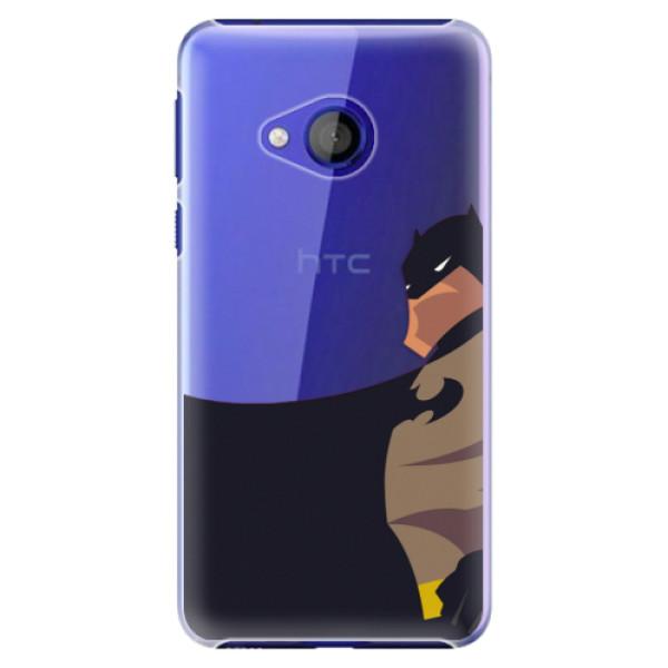 Plastové pouzdro iSaprio - BaT Comics - HTC U Play