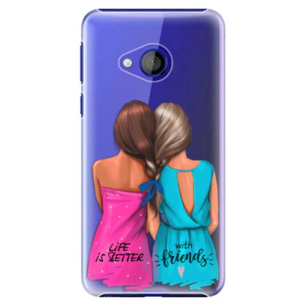 Plastové pouzdro iSaprio - Best Friends - HTC U Play