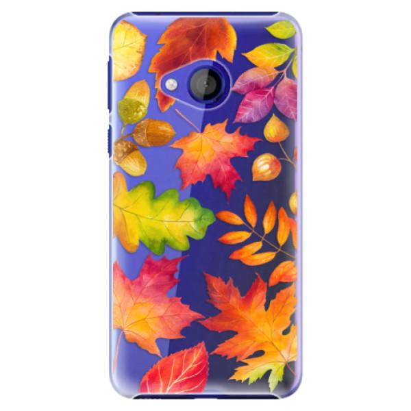 Plastové pouzdro iSaprio - Autumn Leaves 01 - HTC U Play