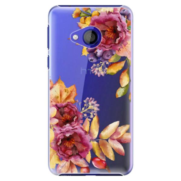 Plastové pouzdro iSaprio - Fall Flowers - HTC U Play