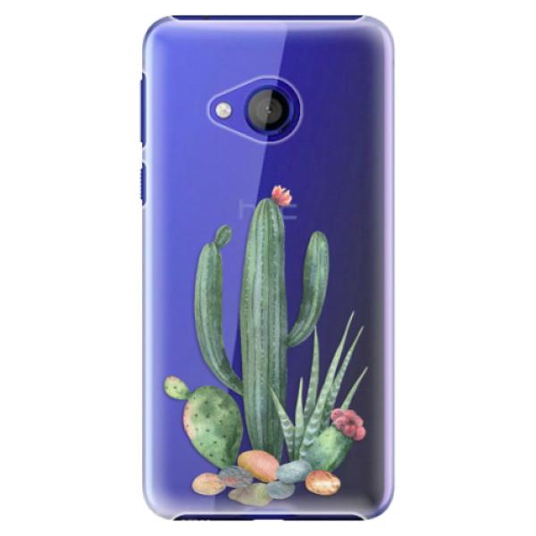 Plastové pouzdro iSaprio - Cacti 02 - HTC U Play