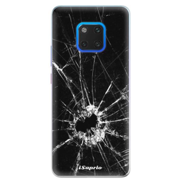 Silikonové pouzdro iSaprio - Broken Glass 10 - Huawei Mate 20 Pro