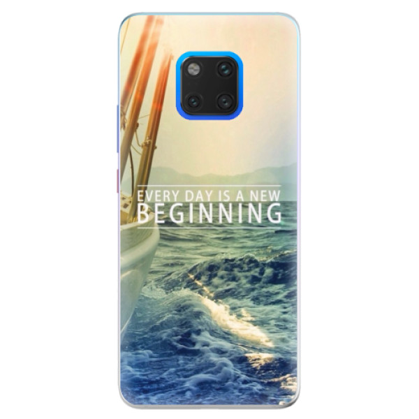 Silikonové pouzdro iSaprio - Beginning - Huawei Mate 20 Pro