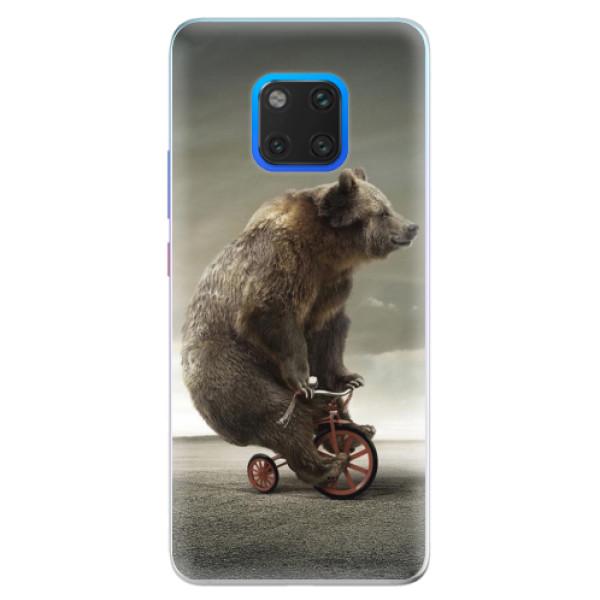 Silikonové pouzdro iSaprio - Bear 01 - Huawei Mate 20 Pro