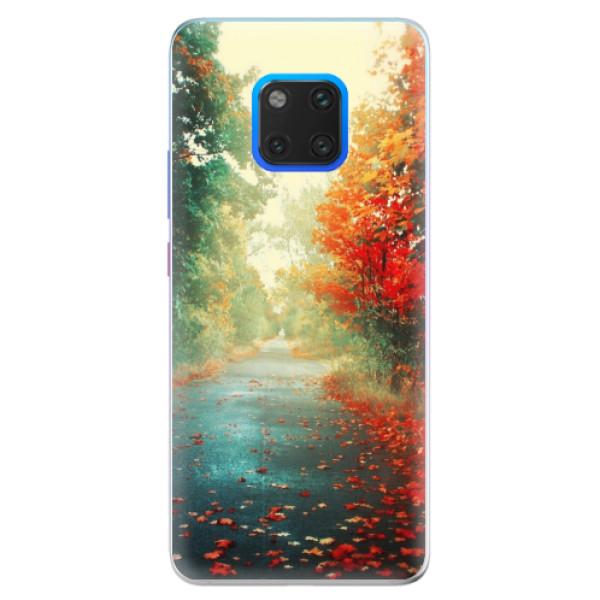 Silikonové pouzdro iSaprio - Autumn 03 - Huawei Mate 20 Pro