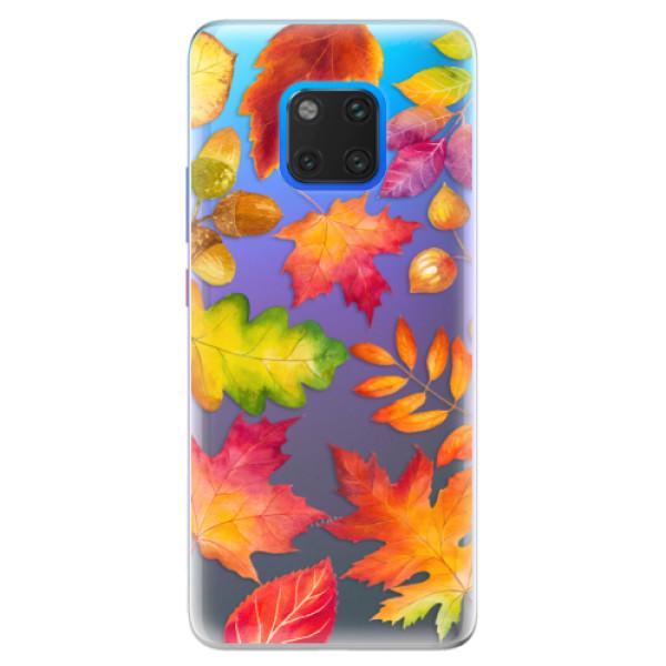 Silikonové pouzdro iSaprio - Autumn Leaves 01 - Huawei Mate 20 Pro