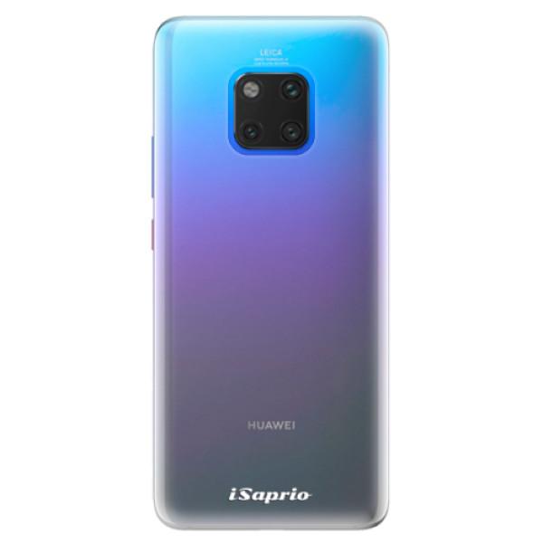 Silikonové pouzdro iSaprio - 4Pure - mléčný bez potisku - Huawei Mate 20 Pro