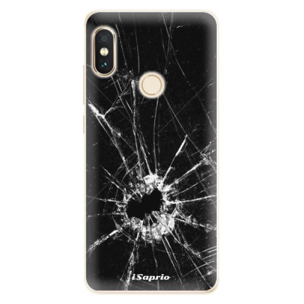 Silikonové pouzdro iSaprio - Broken Glass 10 - Xiaomi Redmi Note 5