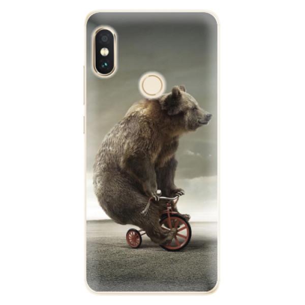 Silikonové pouzdro iSaprio - Bear 01 - Xiaomi Redmi Note 5