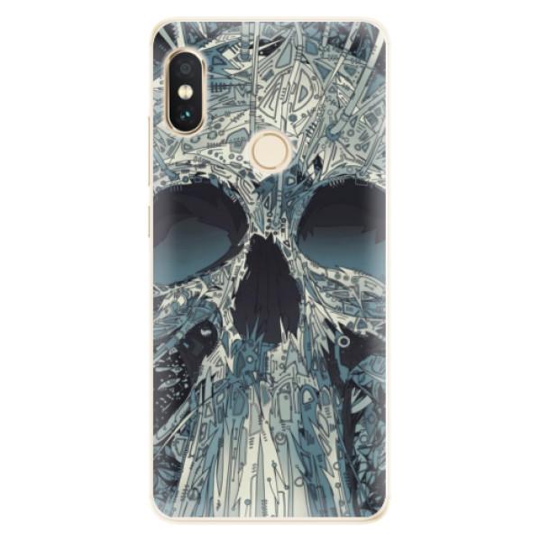 Silikonové pouzdro iSaprio - Abstract Skull - Xiaomi Redmi Note 5