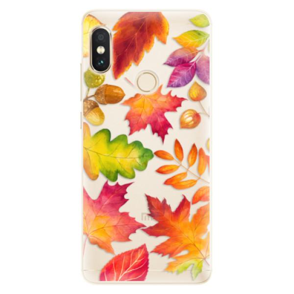 Silikonové pouzdro iSaprio - Autumn Leaves 01 - Xiaomi Redmi Note 5