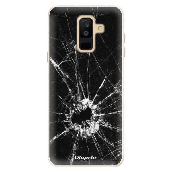 Silikonové pouzdro iSaprio - Broken Glass 10 - Samsung Galaxy A6+