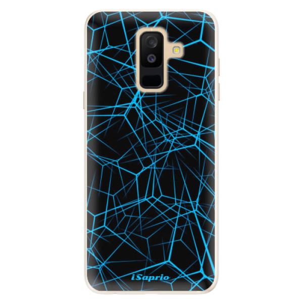 Silikonové pouzdro iSaprio - Abstract Outlines 12 - Samsung Galaxy A6+