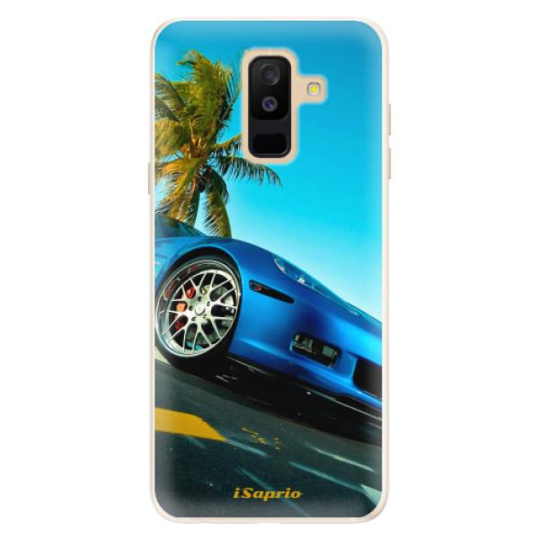 Silikonové pouzdro iSaprio - Car 10 - Samsung Galaxy A6+