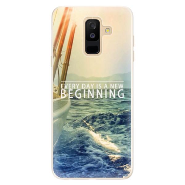 Silikonové pouzdro iSaprio - Beginning - Samsung Galaxy A6+