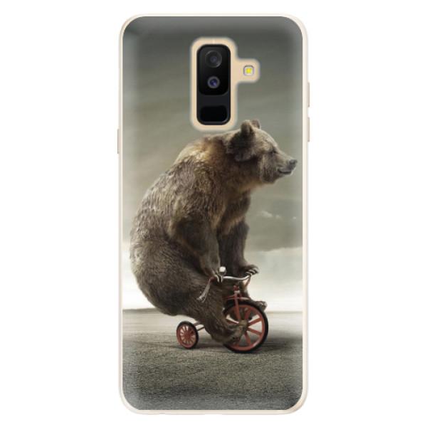 Silikonové pouzdro iSaprio - Bear 01 - Samsung Galaxy A6+