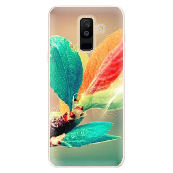 Silikonové pouzdro iSaprio - Autumn 02 - Samsung Galaxy A6+