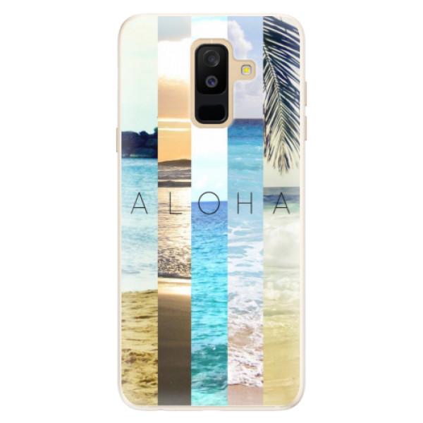 Silikonové pouzdro iSaprio - Aloha 02 - Samsung Galaxy A6+