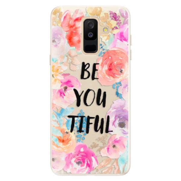 Silikonové pouzdro iSaprio - BeYouTiful - Samsung Galaxy A6+