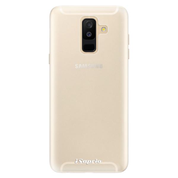 Silikonové pouzdro iSaprio - 4Pure - mléčný bez potisku - Samsung Galaxy A6+