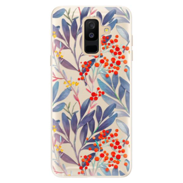 Silikonové pouzdro iSaprio - Rowanberry - Samsung Galaxy A6+