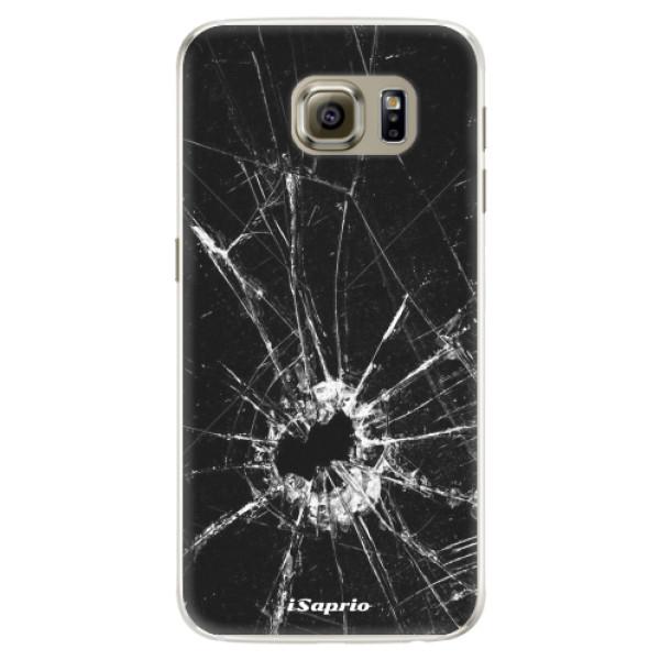 Silikonové pouzdro iSaprio - Broken Glass 10 - Samsung Galaxy S6
