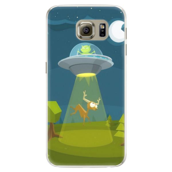 Silikonové pouzdro iSaprio - Alien 01 - Samsung Galaxy S6