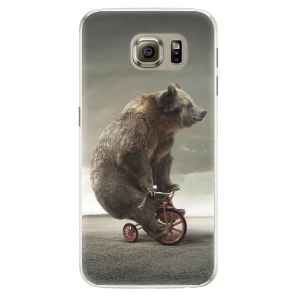 Silikonové pouzdro iSaprio - Bear 01 - Samsung Galaxy S6