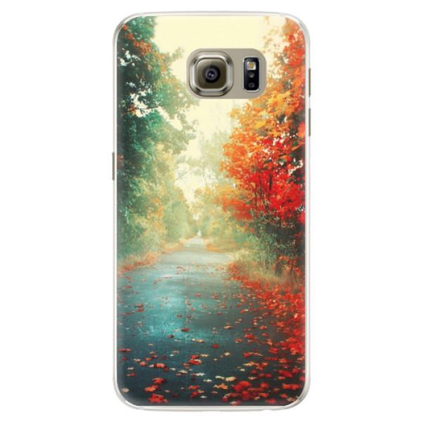 Silikonové pouzdro iSaprio - Autumn 03 - Samsung Galaxy S6