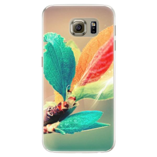 Silikonové pouzdro iSaprio - Autumn 02 - Samsung Galaxy S6