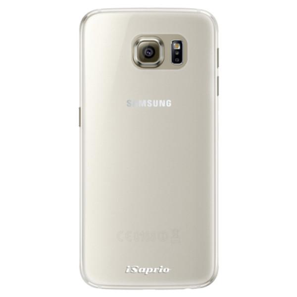 Silikonové pouzdro iSaprio - 4Pure - mléčný bez potisku - Samsung Galaxy S6