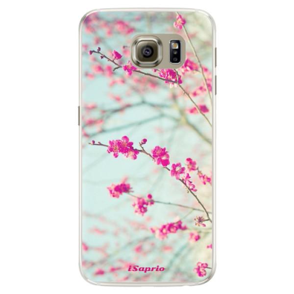 Silikonové pouzdro iSaprio - Blossom 01 - Samsung Galaxy S6 Edge