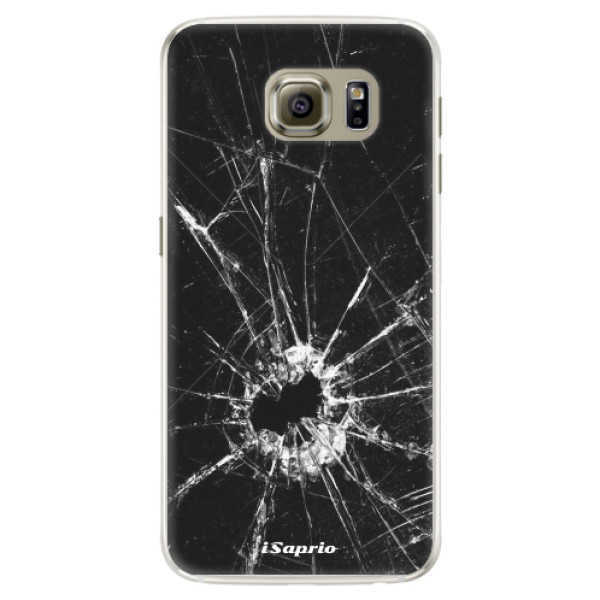 Silikonové pouzdro iSaprio - Broken Glass 10 - Samsung Galaxy S6 Edge