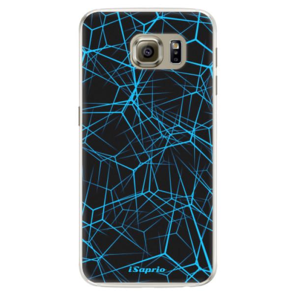 Silikonové pouzdro iSaprio - Abstract Outlines 12 - Samsung Galaxy S6 Edge