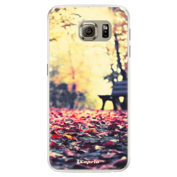 Silikonové pouzdro iSaprio - Bench 01 - Samsung Galaxy S6 Edge