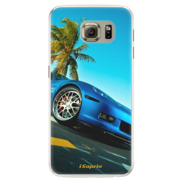 Silikonové pouzdro iSaprio - Car 10 - Samsung Galaxy S6 Edge