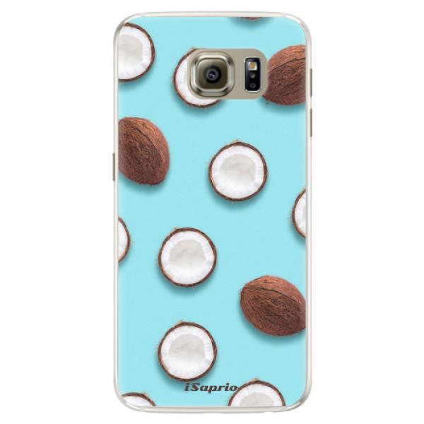 Silikonové pouzdro iSaprio - Coconut 01 - Samsung Galaxy S6 Edge