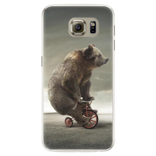 Silikonové pouzdro iSaprio - Bear 01 - Samsung Galaxy S6 Edge