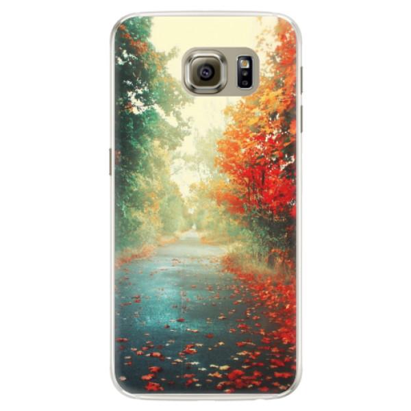 Silikonové pouzdro iSaprio - Autumn 03 - Samsung Galaxy S6 Edge