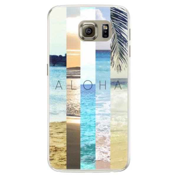 Silikonové pouzdro iSaprio - Aloha 02 - Samsung Galaxy S6 Edge
