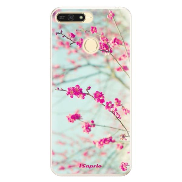 Silikonové pouzdro iSaprio - Blossom 01 - Huawei Honor 7A