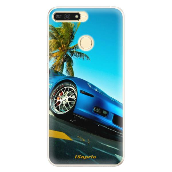 Silikonové pouzdro iSaprio - Car 10 - Huawei Honor 7A