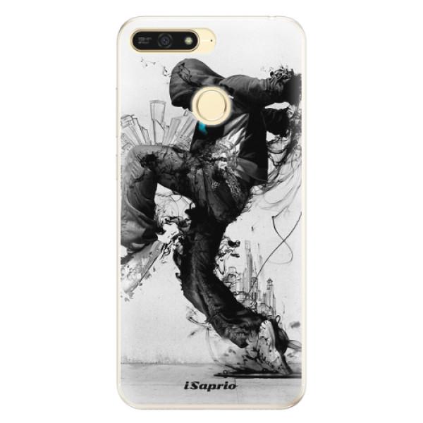 Silikonové pouzdro iSaprio - Dance 01 - Huawei Honor 7A