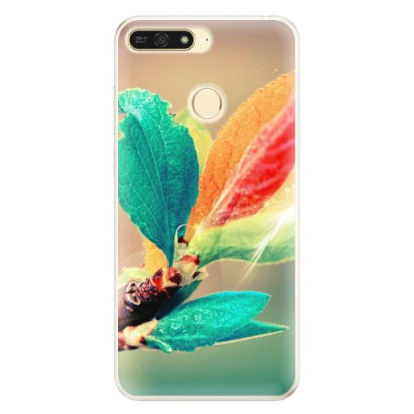 Silikonové pouzdro iSaprio - Autumn 02 - Huawei Honor 7A