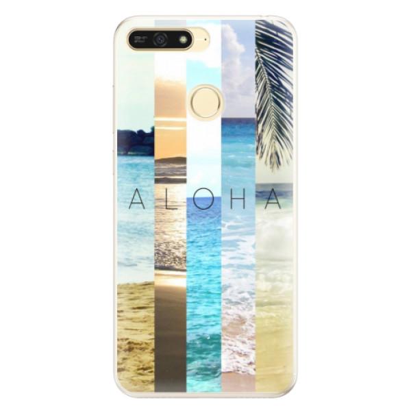 Silikonové pouzdro iSaprio - Aloha 02 - Huawei Honor 7A
