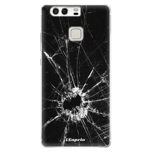 Silikonové pouzdro iSaprio - Broken Glass 10 - Huawei P9