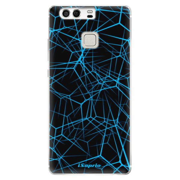 Silikonové pouzdro iSaprio - Abstract Outlines 12 - Huawei P9