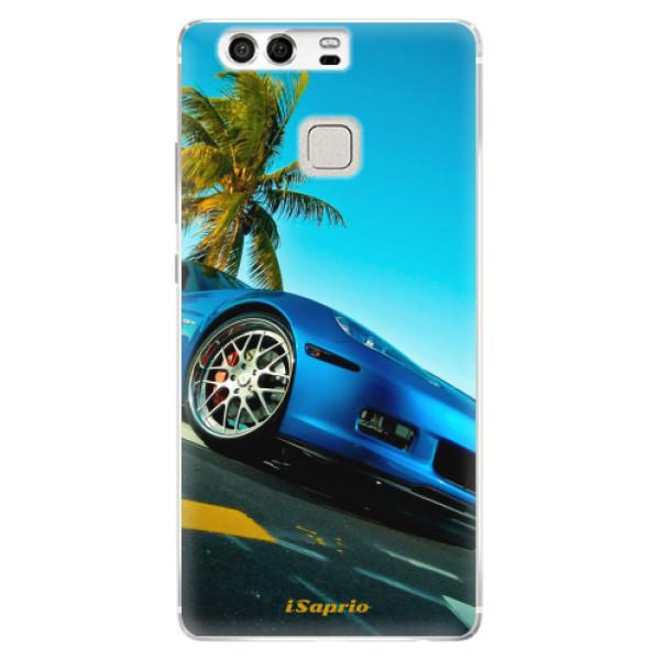 Silikonové pouzdro iSaprio - Car 10 - Huawei P9